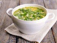 Рецепта Супа с лапад или киселец, картофи, заквасена сметана и извара